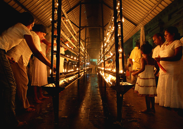 Vesak Celebration Tour, In Sri Lanka